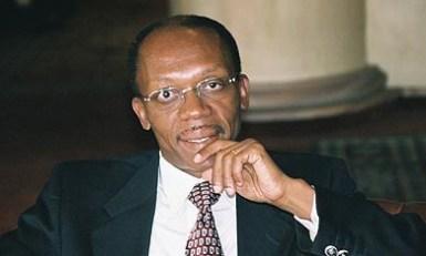 Presidente haitiano Jean Baptiste Bertrand. Crédito: ekspoze.files.wordpress.com