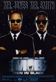 Poster do filme MIB: Homens de preto. Crédito: Music on the Run.