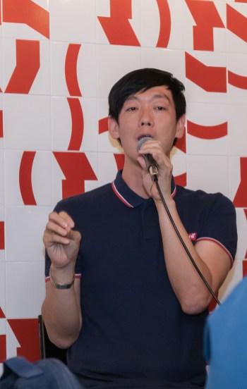 O escritor sul-coreano Kang Byoung Yoong. Crédito: Mariana S. Brites/Revista Intertelas.