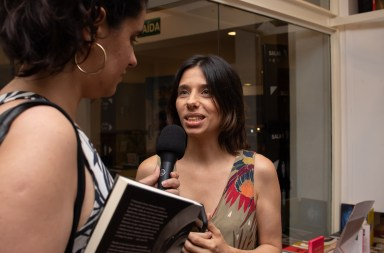 Maria de Andrade, editora executiva da editora Bazar do Tempo. Crédito: Mariana S. Brites/Revista Intertelas.