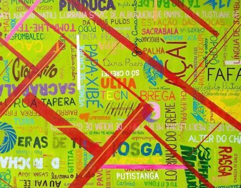 Brasil/PA Acrílico s/ tela, 1.45 x 1,00m. Crédito: arquivo Hélio Vianna.