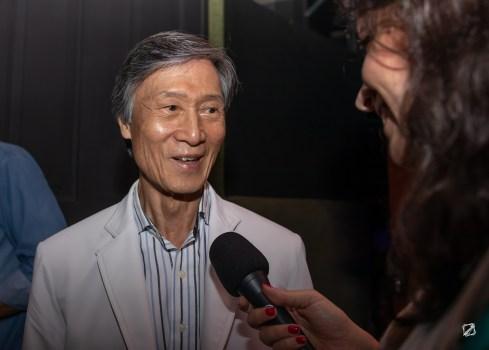 O mestre de Taekwondo Kim Yong Min. Crédito: Mariana Scangarelli Brites / Revista Intertelas.