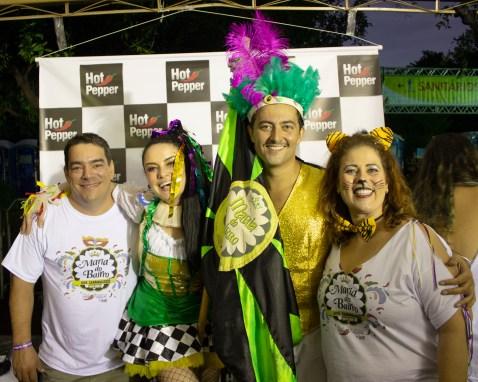 Esquerda para direita: Rodrigo Albuquerque, Luiza Ollé, Zeca Brito e Ana Luiza Migliavaca. Crédito Isidoro B. Guggiana.