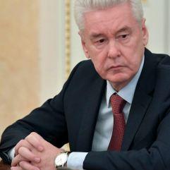O prefeito de Moscou Sergei Sobianin. Crédito: Kremlin/AP/https://www.rferl.org/