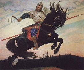 """Ilya Muromets"" (1914). Crédito: Viktor Vaznetsov."