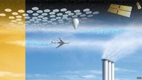 Ilustração de Solar Radiation Management . Crédito: https://energycentral.com/