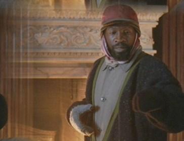 Glenn Plummer interpreta Luther, um sem-teto de Nova Iorque. Crédito: http://lotacharm.angelfire.com/