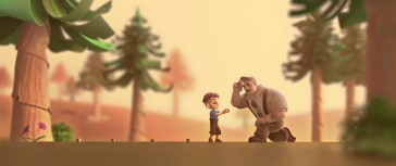 """""""Boy in the Woods"""". Crédito: Hype Animation Studios."""