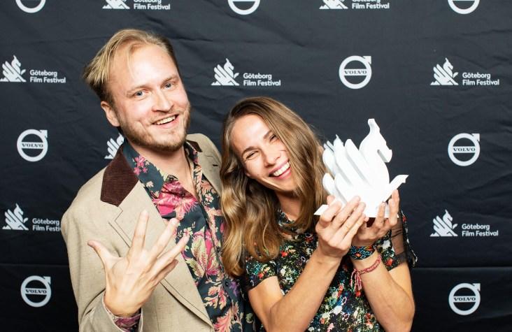 Os diretores Jussi Rastas e Jenni Kivistö. Crédito: Agência SOS.