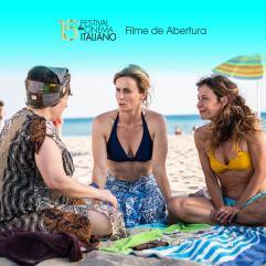 """O filme de abertura do festival será """"Odeio o verão"""", de Massimo Venier. Crédito: Festival de Cinema Italiano no Brasil."""