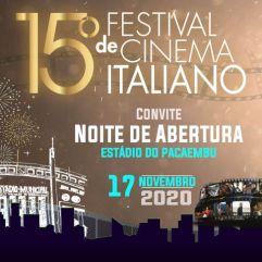 Crédito: Festival de Cinema Italiano no Brasil.