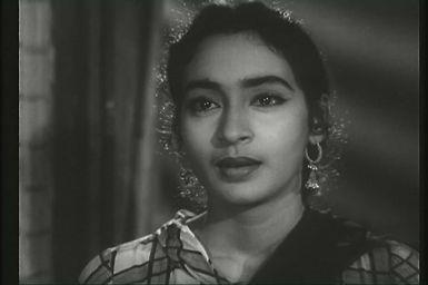 A atriz Nutam Samarth, que faz o papel de Shanti em Chhalia. Crédito: divulgação.