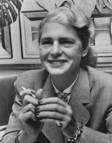 Margaret Bourke White, em 1955. Crédito: Wikipedia.