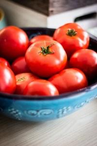 escolher tomate