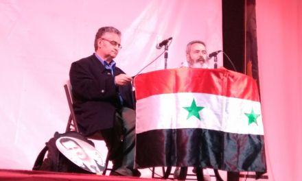 Entrevista a José Antonio Egido en La Semana de la Paz de Marinaleda.