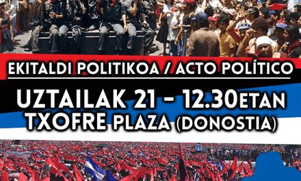 40/19 40º Aniversario de la Revolución Popular Sandinista