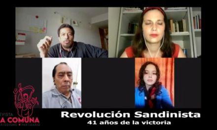 41 años de la Revolución sandinista