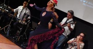 Flamenco in Blue