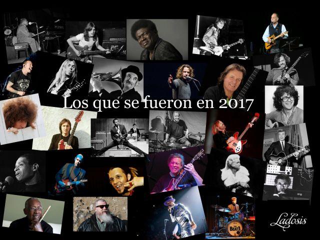 Músicos fallecidos 2017