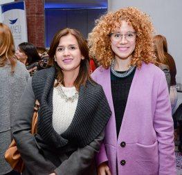 Mariana Sanguinetti y Mónica Zanocchi.