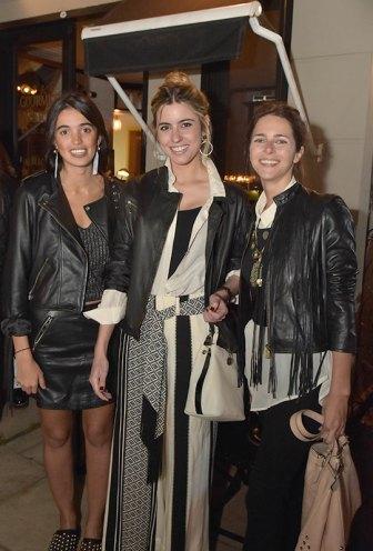 Agnes Lenoble, Chiara Deffeminis y Clarita Anchorena.