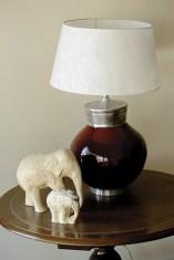 """""""Amo los elefantes. Más allá de que traen suerte, son fuertes y pacientes"""""""