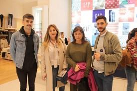 Mauro Pizard, Geraldine Lewy, Rosario San Juan y Joaquín Pastorino.