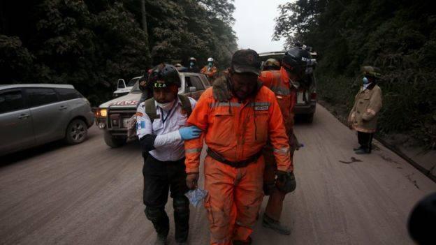 Guatemala: al menos 33 muertos tras una erupción del Volcán de Fuego
