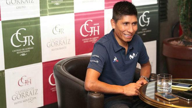 Quintana: «Queda Nairo para rato, y del bueno»