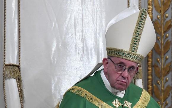 El mensaje del Papa Francisco a las familias de las víctimas en Bogotá