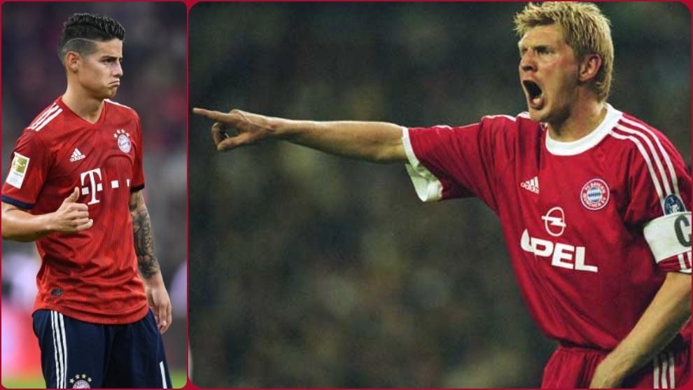 Stefan Effenberg 'echa' a James del Bayern
