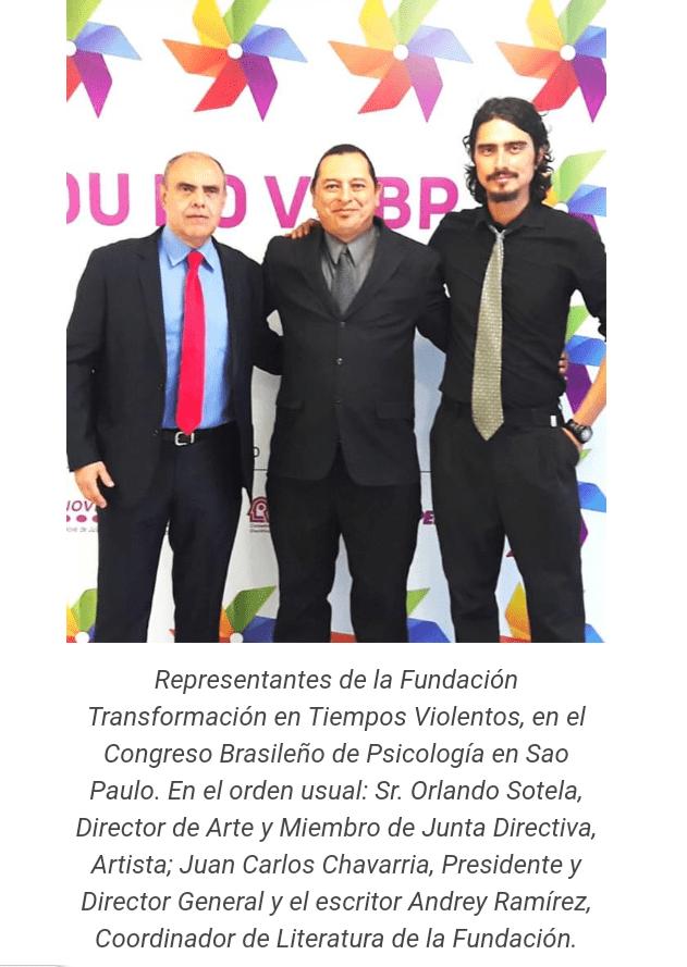 Juan Carlos Chavarria Director de la Fundacion Transformacion en Tiempos Violentos