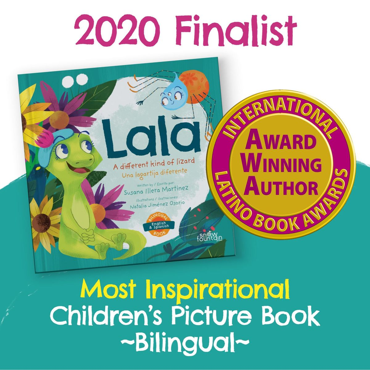 Lala - A different kind of lizard: Una lagartija diferente (Bilingual)