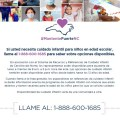 Información de cuidado de niños para familias