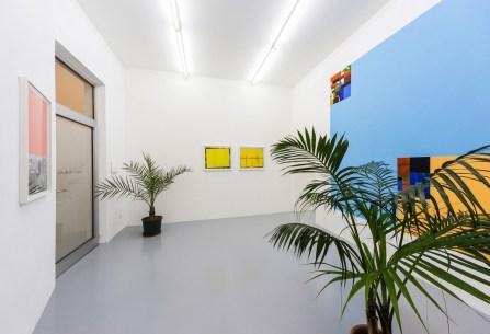 Shamanic Modernism: Parrots, Bossanova and Architecture, 2016, exhibition view Cortesía de la Galleria Umberto Di Marino, Nápoles, Italia