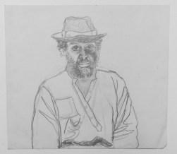 José Nava, Autorretrato con sombrero