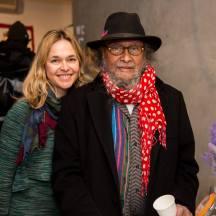Imágenes de la inauguración. Victoria Tischler y José Nava