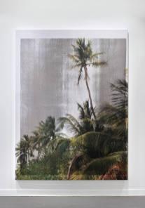 Contract (AOC L), 2015 Jennifer Allora & Guillermo Calzadilla Serigrafía sobre lino