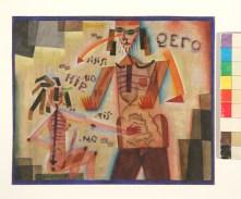 Alejandro Xul Solar, Hipnotismo, 1923 [Colección Eduardo Costantini, Buenos Aires, inv. 38]