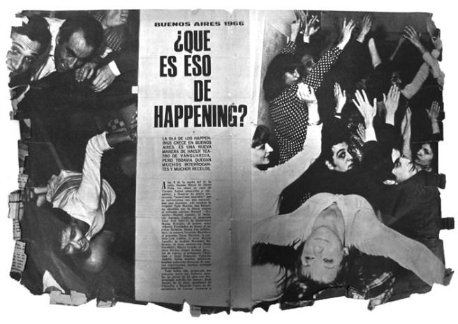 Roberto Jacoby. Antihappening. 1966. Cortesía de la Galería Bacelos