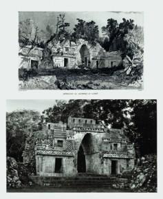 Arco de Labná interior, a la manera de Catherwood (fachada oeste). Proyecto Catherwood/Catherwood Project1985-1993/2001. 25 fotografías, dimensiones variables.