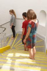 Jarbas Lopes, Cascata Bila, 2017. Escaleras, acción, agua. Cortesía A Gentil Carioca & Luisa Strina. Foto Aurélien Mole