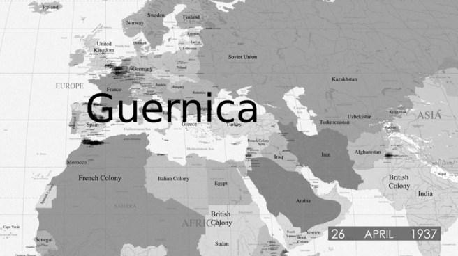 El rayo que no cesa (2015 - ). Videoinstalación de tres canales. Cortesía de la Oficina de Cultura y Turismo de la Comunidad de Madrid