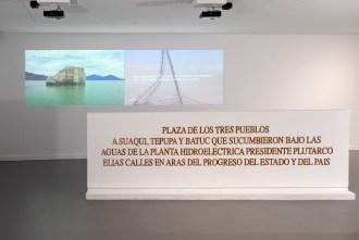 Miguel Fernández de Castro, Batuc. Vista de la instalación. Cortesía de ARTIUM-Vitoria