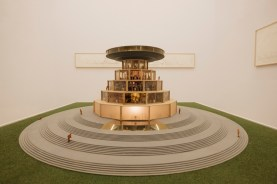 Carlos Garaicoa, Campus o la Babel del conocimiento, 2002 - 2004. Cortesía del artista y de la Galleria Continua (San Gimignano, Les Moulins, Beijing, La Habana). Foto: Andrea Guermani. Cortesía de la Fondazione Merz