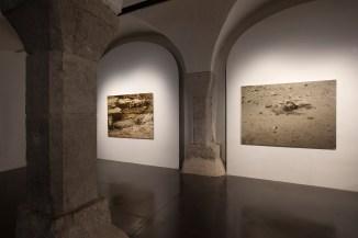 Juan Fernando Herrán, Vista de la exposición. Cortesía del Centro de arte contemporáneo La halle des bouchers, 2017.