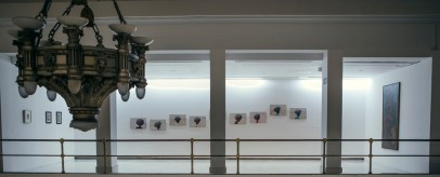 Vista de la exposición Campo a través. Arte colombiano en la Colección del Banco de la República. Sala Alcalá 31, 2018.