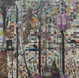 Luiz Zerbini, Concrete Jungle (2011). Cortesía de South London Gallery