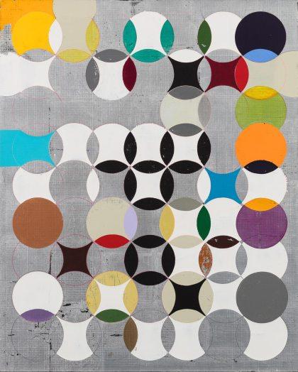 Luiz Zerbini, Traffic (2016). Cortesía de South London Gallery