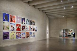Juan Dávila: pintura y ambigüedad. Vista de la exposición en MUSAC, 2018